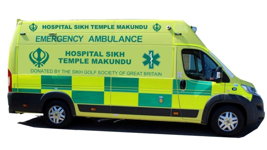Ambulance Gurdwara Hospital Makindu